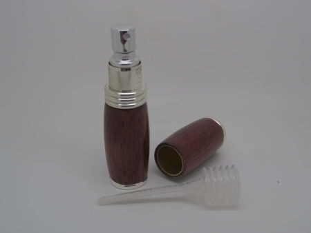 Travel Size Purpleheart Perfume Spray Bottle