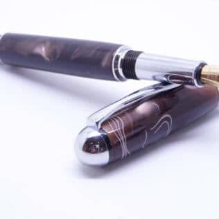 Chocolate Brown Fountain Pen