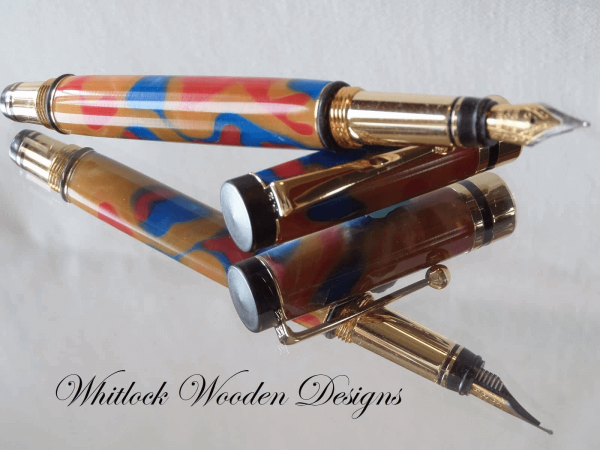 Classic Multi Coloured Fountain Pen
