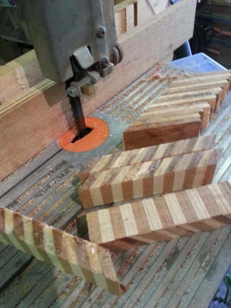 Cutting Blanks To Size On The Bandsaw