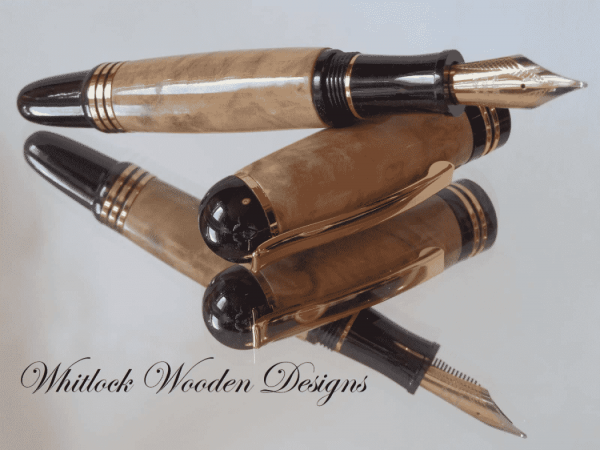 Handmade Wooden Coolabah Fountain Pen