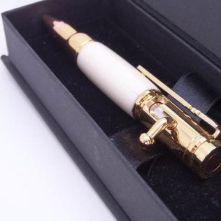 Mini Bolt Action Ivory Pen