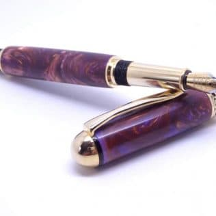 Mystical Purple Fountain Pen