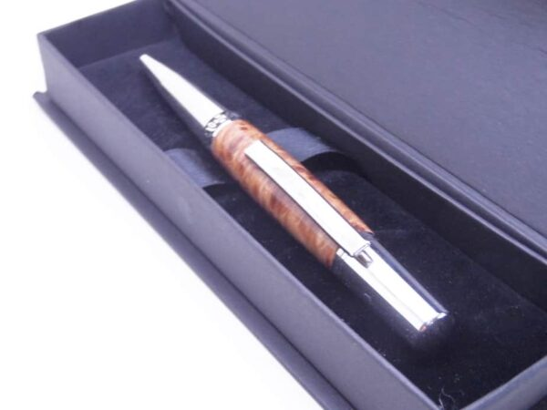 Myrtle burl pen with gift box