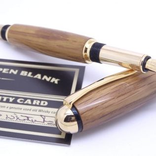 Oak Whiskey Cask Fountain Pen