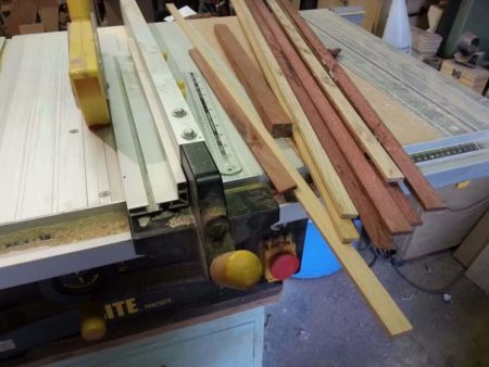 Ripping Stock To Size On The Table saw