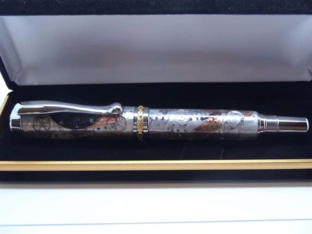 Rollerball Pen With Steampunk Design