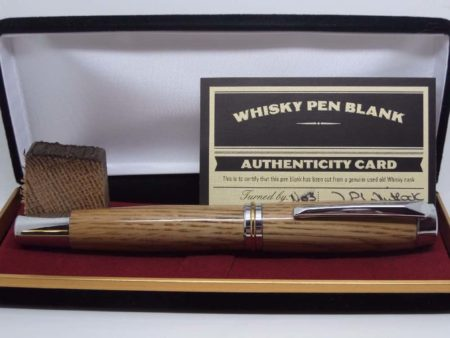 Rollerball Whiskey Barrel Pen
