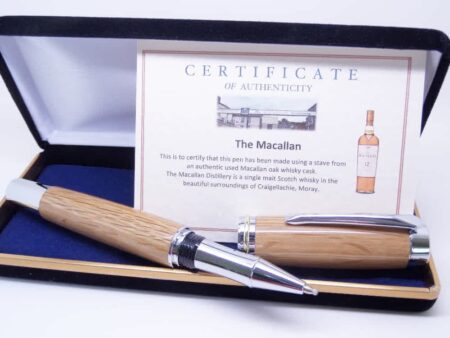 Rollerball Whisky Barrel Pen