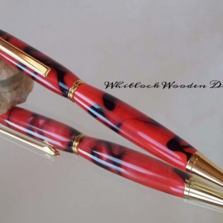 Red & Black Twist Pen