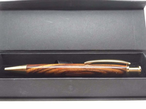 Cocobolo Wood Pen With Gift Box