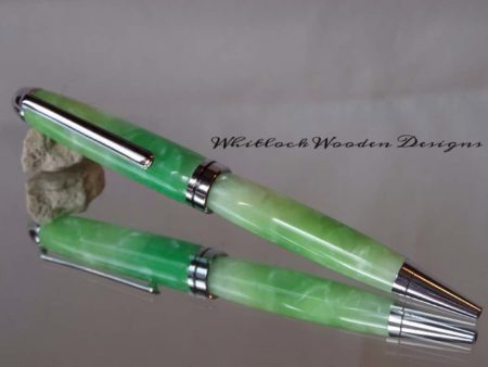 European Green Ballpoint Pen