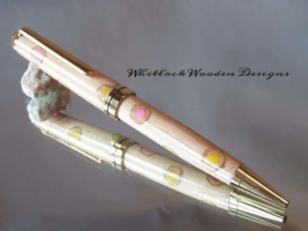 European Wood Pen With Colouring Pencils