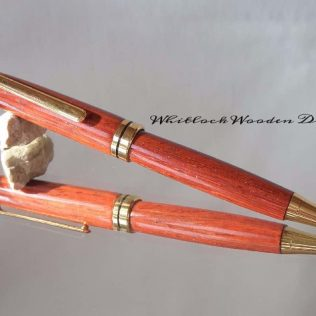 Handmade Wooden Pen Padauk Wood