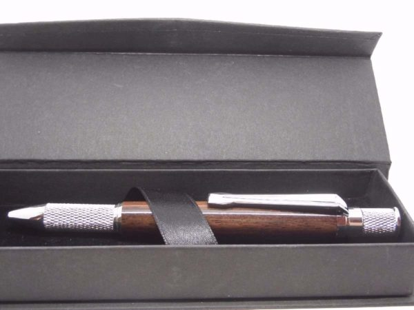 Indian Rosewood Wooden Ball Point Pen With Gift Box