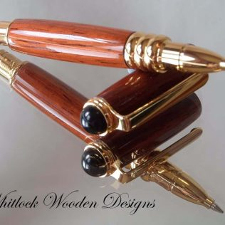 Padauk Wooden Purse Pen