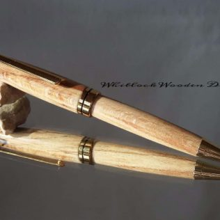 Spalted Beech European Pen