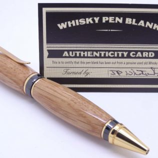 Whiskey Cask Pen