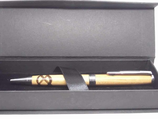 Celtic Knot Wooden Ink Pen With Gift Box