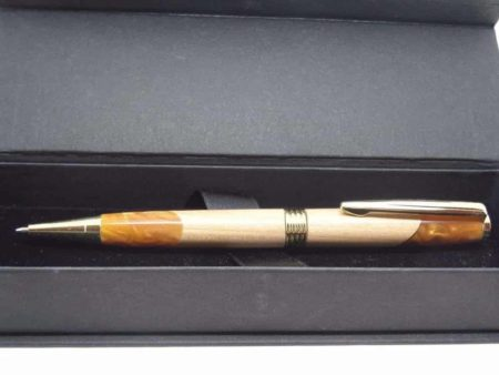 Wooden Hybrid Copper Ballpoint Pen