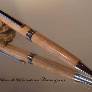 English Oak Ballpoint Pen