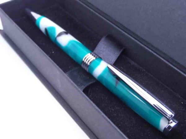 Green Black Ballpoint Pen And Gift BOX