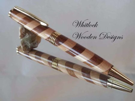 Handmade Barber Pole Pen