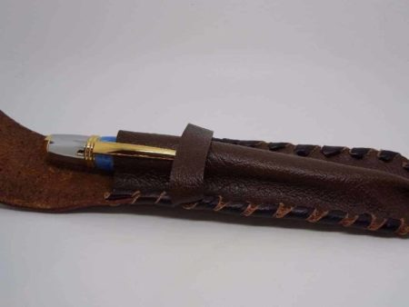 Brown Leather Pen Case