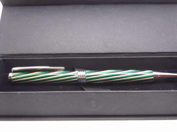 Multicoloured Streamline Wooden Pen With Gift Box