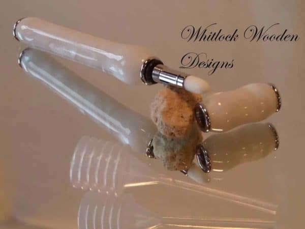 Pearl White Perfume Pen Applicator