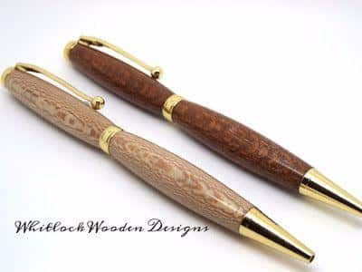 Two Lacewood Pens