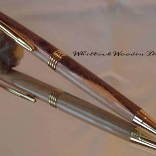 Two-Tone Segmented Wood Pen