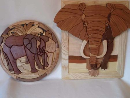 Wooden Intarsia Wall Art