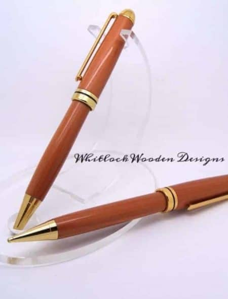 Canary Wood Pen Set