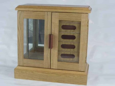 Wooden Wardrobe Style Jewellery Box