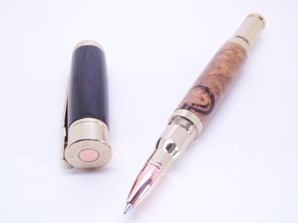bullet rollerball pen with details