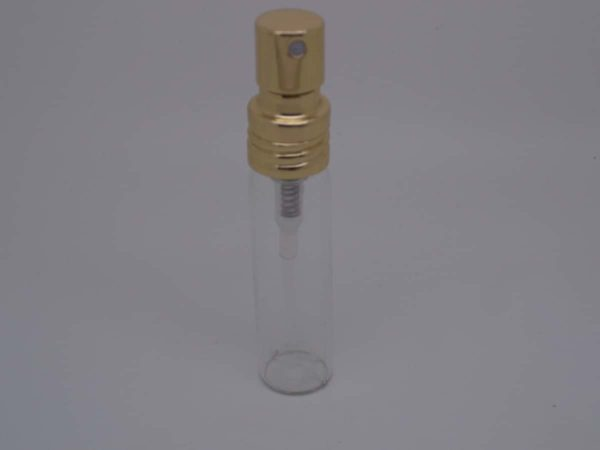 Gold replacement perfume atomiser bottle