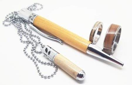 9th wedding anniversary gifts pen and jewellery
