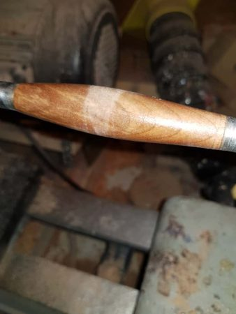 PEN WITH BAD CA GLUE FINISH