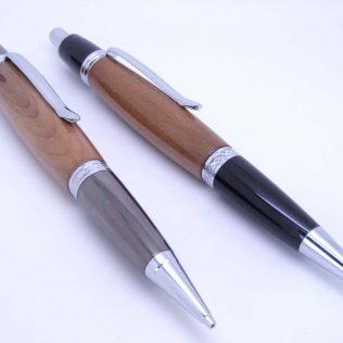 Weeping Willow Wooden Pen And Pencil Set