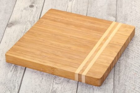 wooden board for cooking