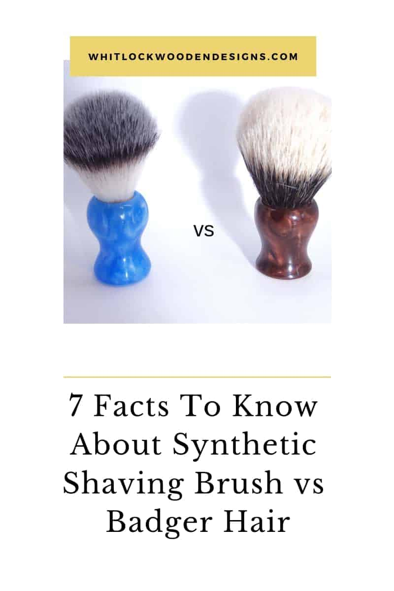 7 Facts To Know About Synthetic Shaving Brush vs Badger Hair