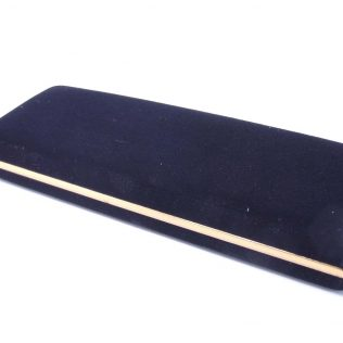 Velour Black Single Pen Box