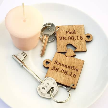 Wooden Keyrings