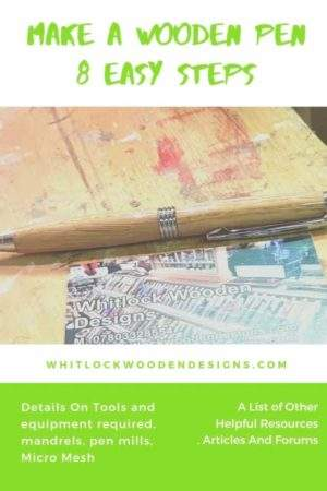 How To Make A Wooden Pen (8 Steps & Photos)