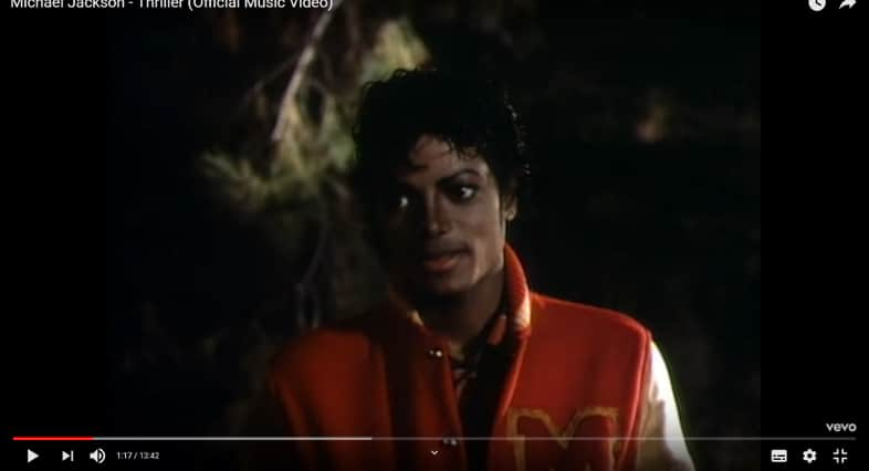 What Year Was The Michael Jackson Hit Thriller released