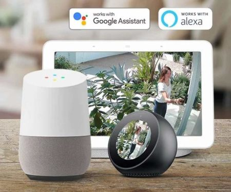 Wifi Camera With Google Assistant