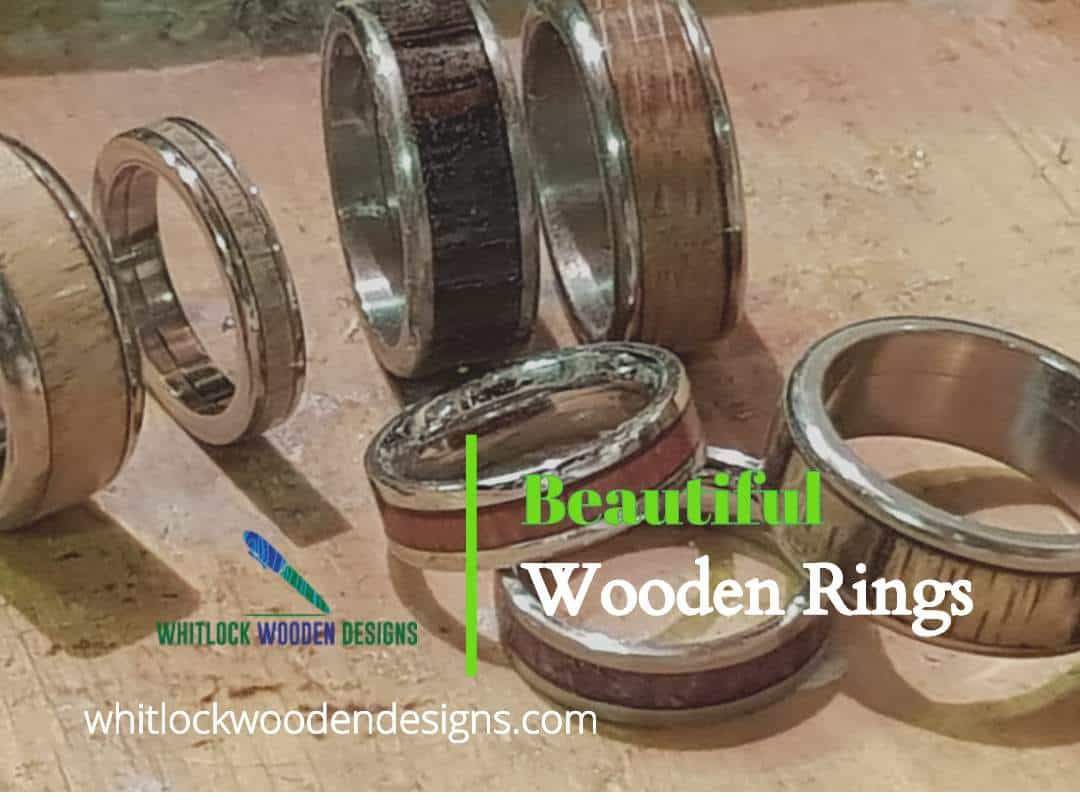 Beautiful Wooden Rings