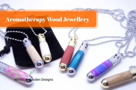 Wooden Aromatherapy Jewellery