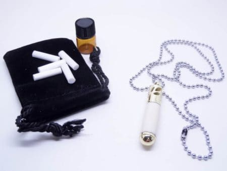 Ivory Essential Oil Diffuser Necklace